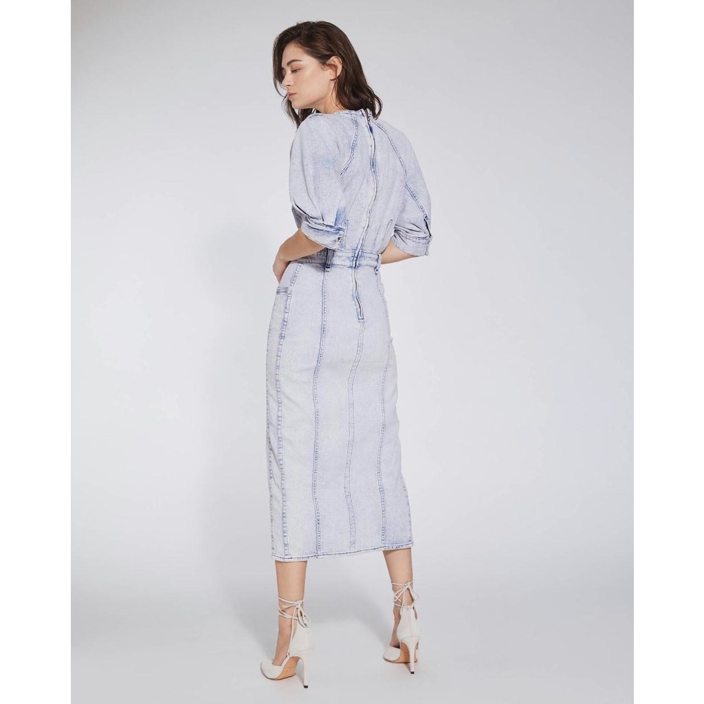 IRO Blue Dress Alysu