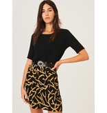 Ba&sh Black Skirt Clemy