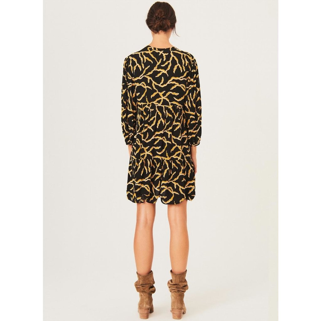 Ba&sh Black Dress Constance