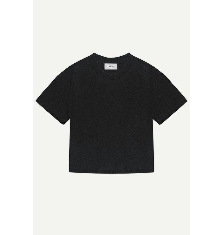 Ba&sh Ba&sh Black T-shirt Amor