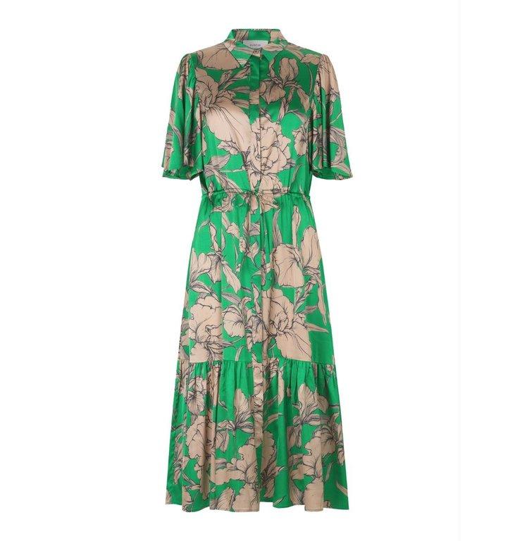 Munthe Munthe Green Dress Tanta
