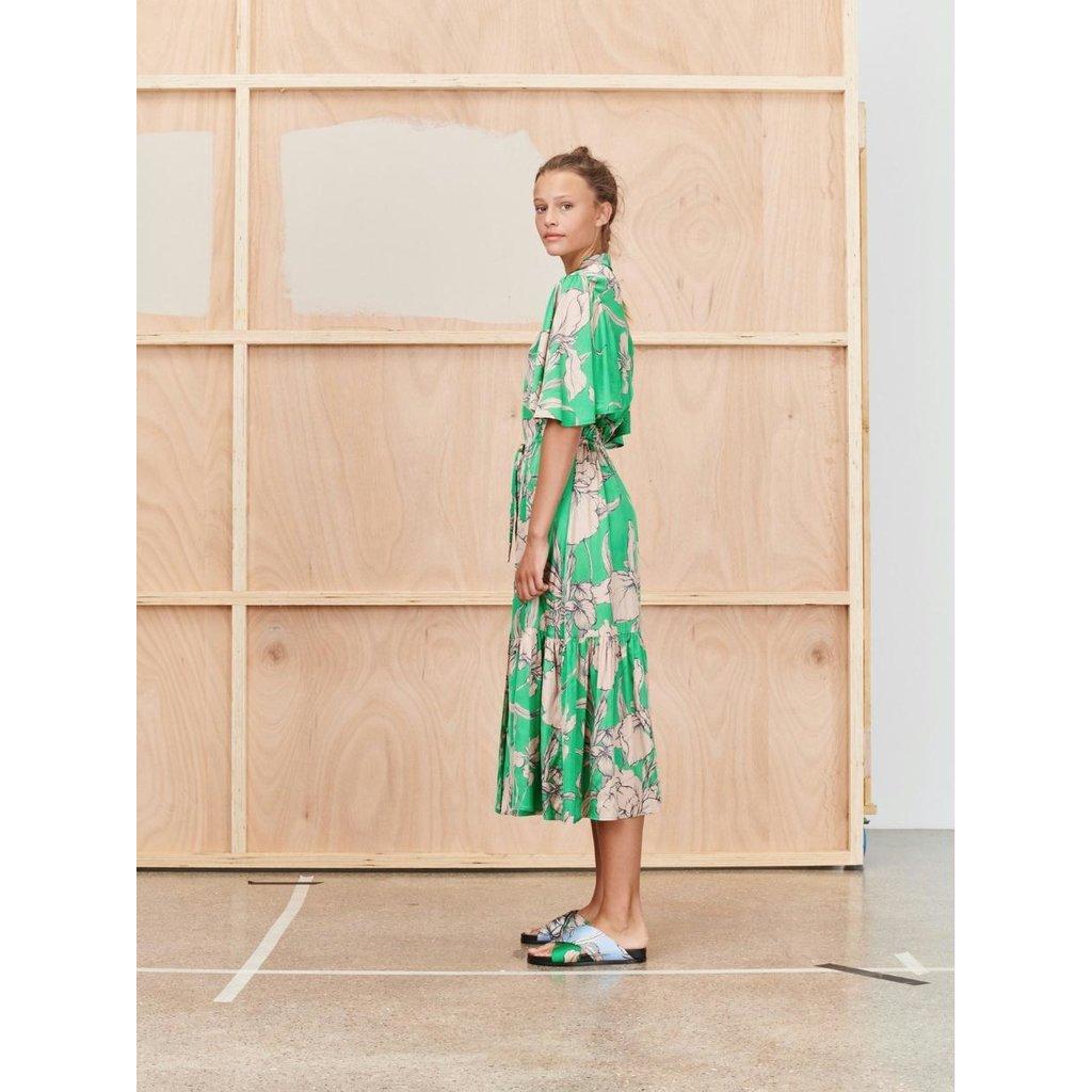 Munthe Green Dress Tanta