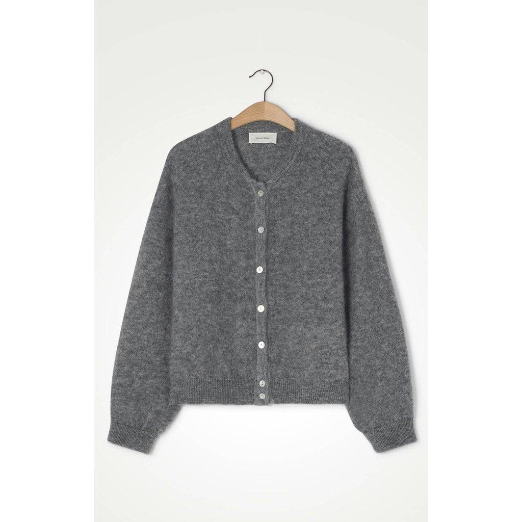 American Vintage Grey Cardigan Zabi255