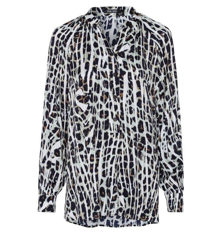 Marc Aurel Marc Aurel Leopard Blouse 6418-1000-92954