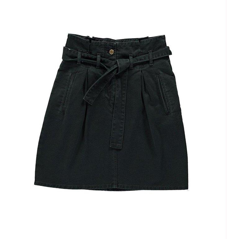 Essentiel Antwerp Essentiel Antwerp Black Colour Denim Miniskirt Zan