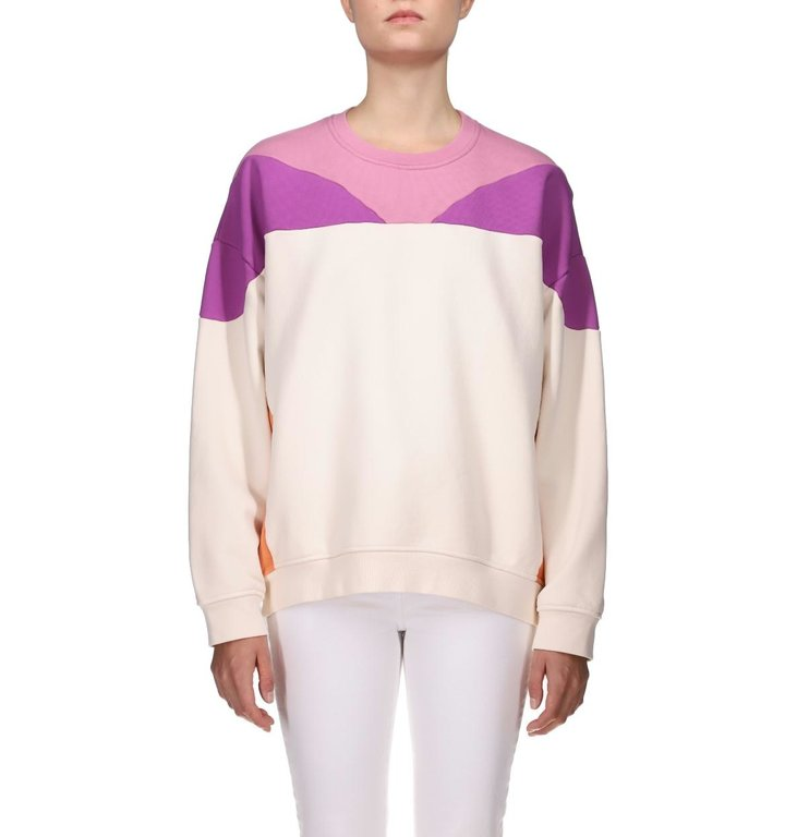 IRO IRO Off White/ Purple Sweater Story