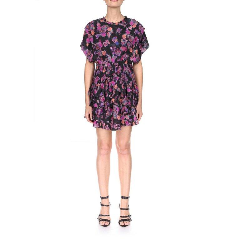 IRO IRO Black/Pink Dress Lakie