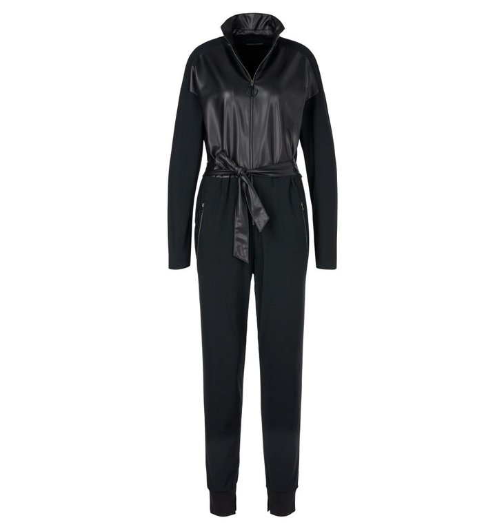 Marc Cain Marc Cain Midnight Blue Jumpsuit QS2901-J29
