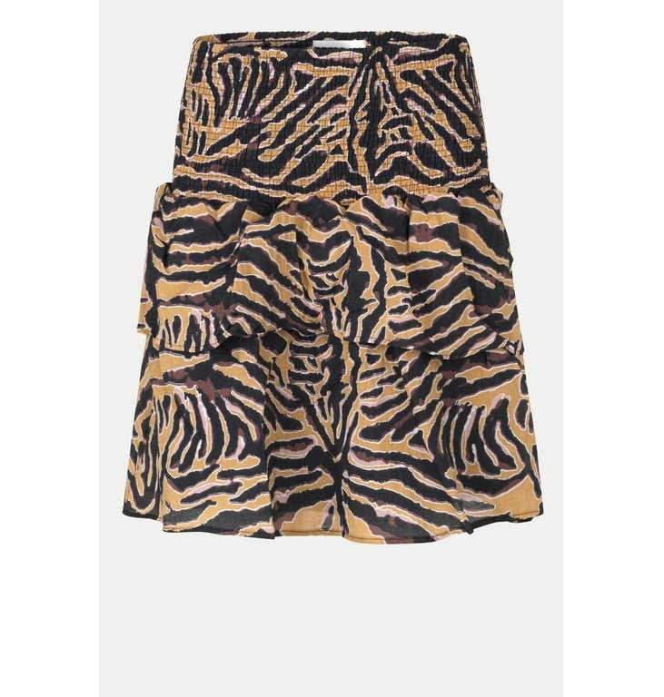 Second Female Second Female Multicolour Zebraly Skirt 54254