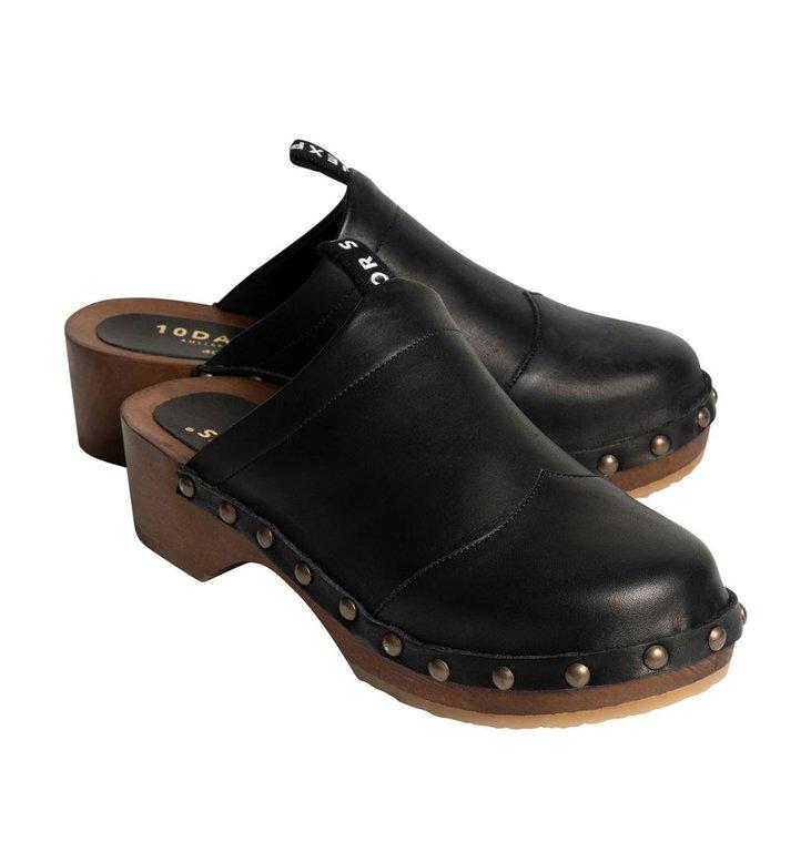 10Days 10Days Black clogs 20-936-1201