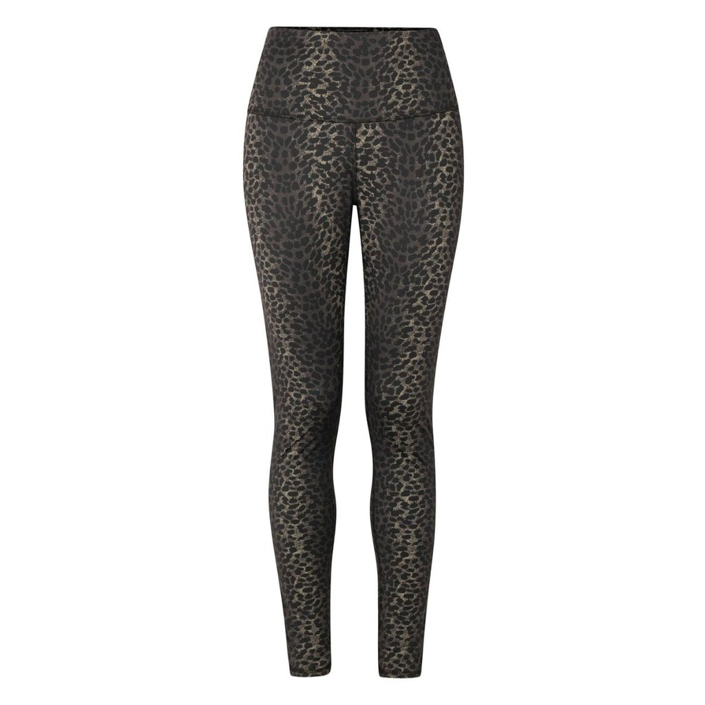 10Days Taupe yoga leggings leopard camo 20-024-1201