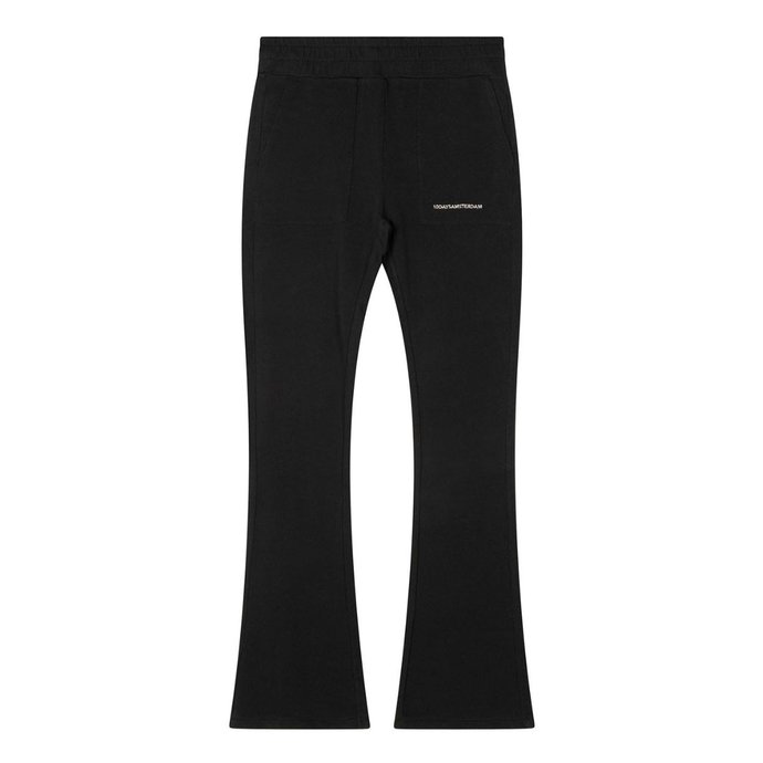 10Days Black flared jogger 20-012-1201