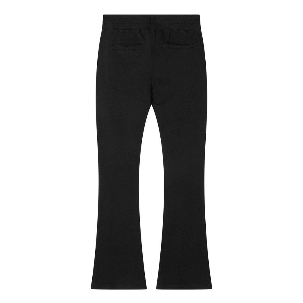 10Days Black flared jogger 20-012-1201