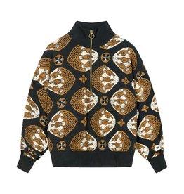 10Days 10Days Dark Grey Blue sweater ethnic 20-801-1201