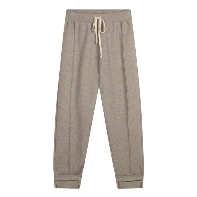 10Days Grey Melee knitted pants 20-674-1201