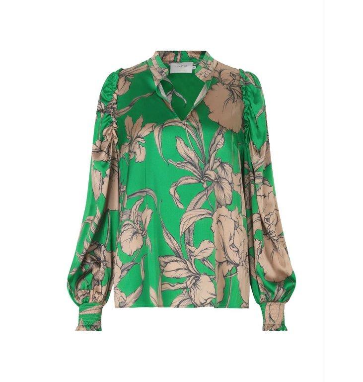 Munthe Munthe Green Blouse Tabuc