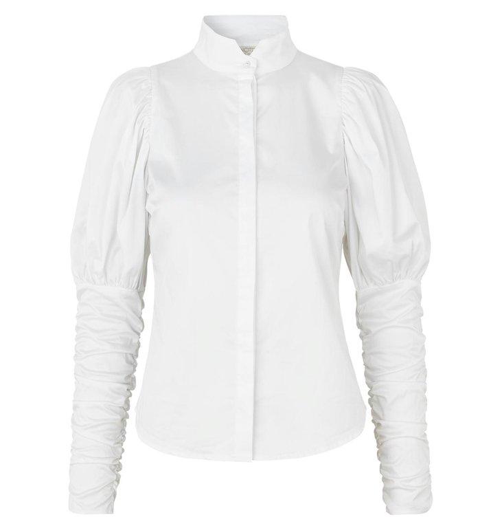 Notes du Nord Notes du Nord White Nila shirt 11386