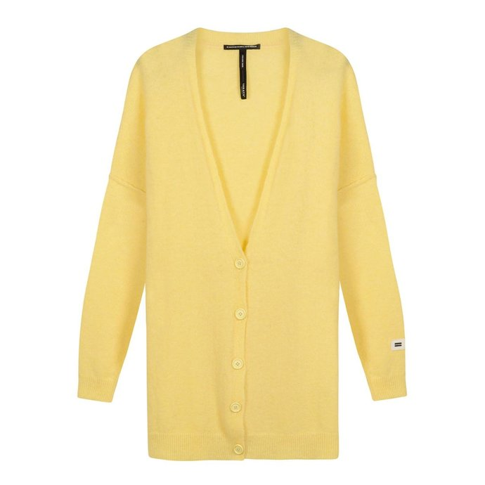10Days Yellow soft knit cardigan 20-651-1201