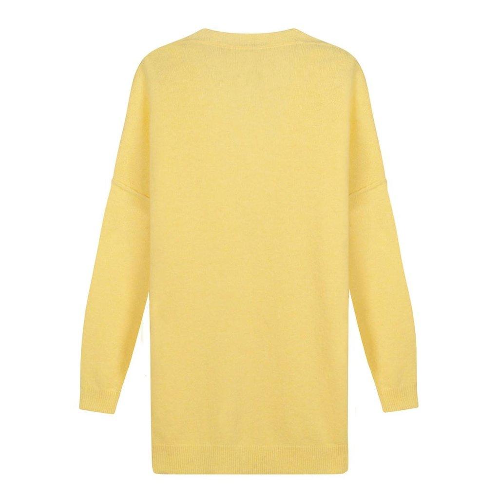 10Days Yellow soft knit cardigan 20-651-1201
