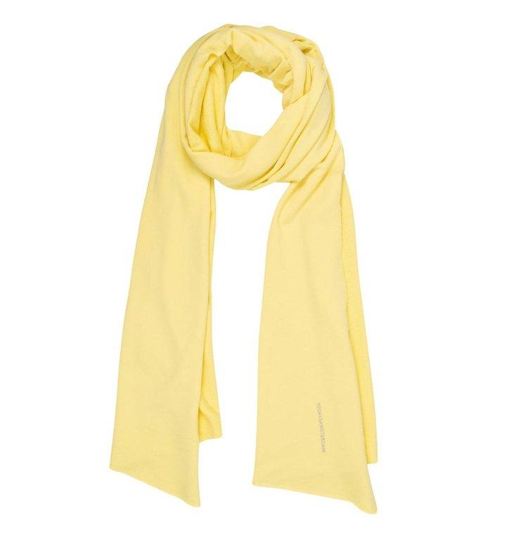 10Days 10Days Yellow scarf fleece logo 20-904-1201