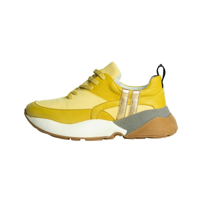 10Days Yellow tech sneakers 2.0 20-935-1201