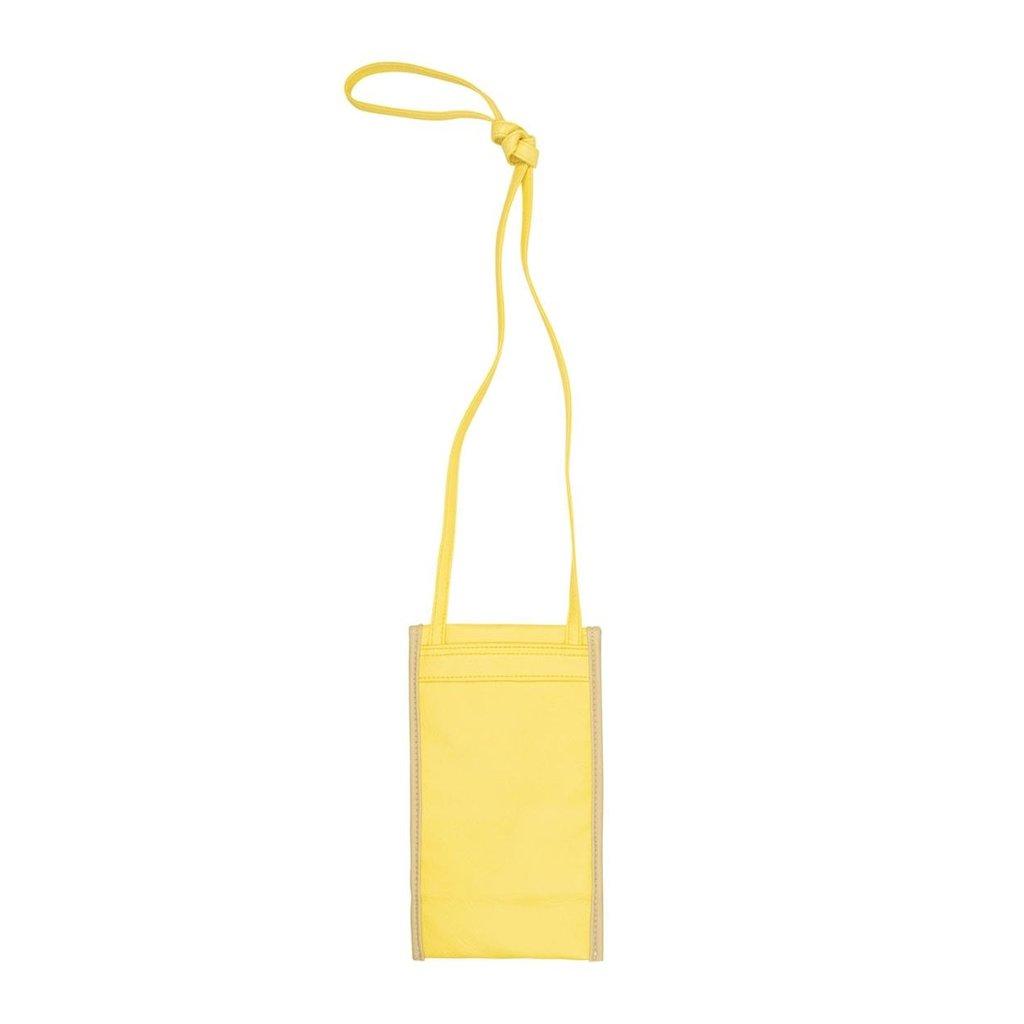10Days Yellow small pouch uni 20-967-1201