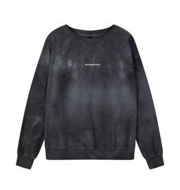 10Days 10Days Dark Grey Blue crew neck sweater tie dye 20-805-1201