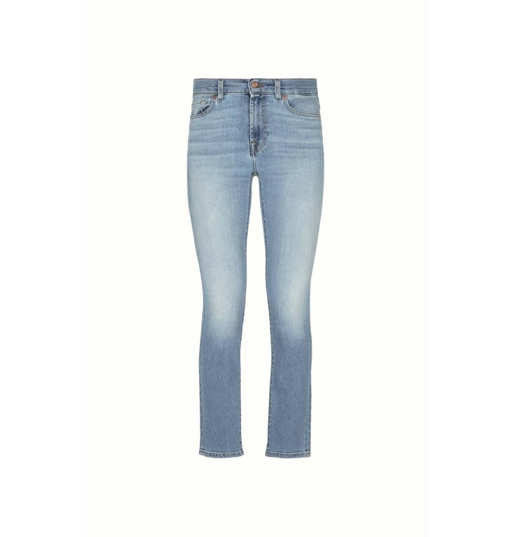 7 For All Mankind 7 For All Mankind Blue Roxanne Ankle Jeans JSVY1200EY