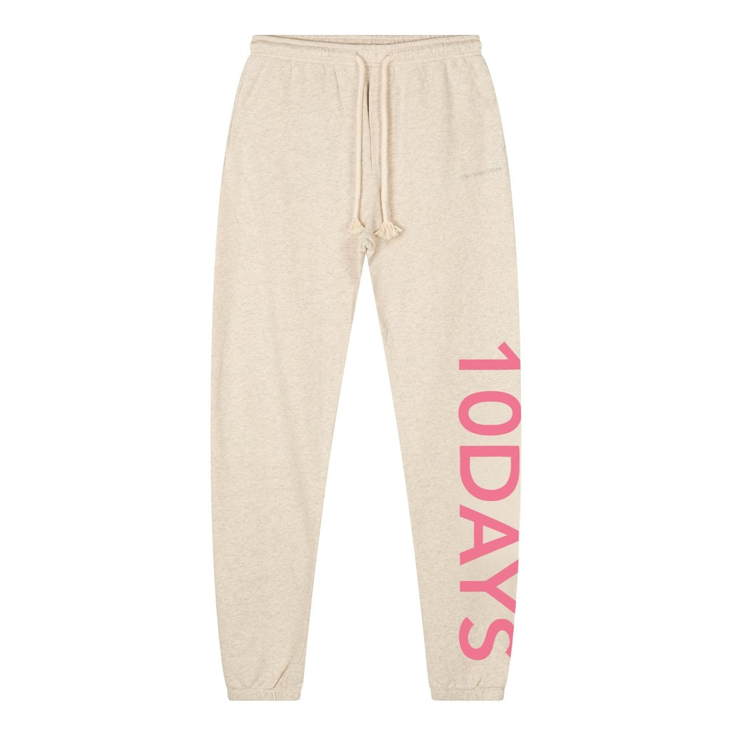 10Days Off White slim jogger logo 20-016-1201