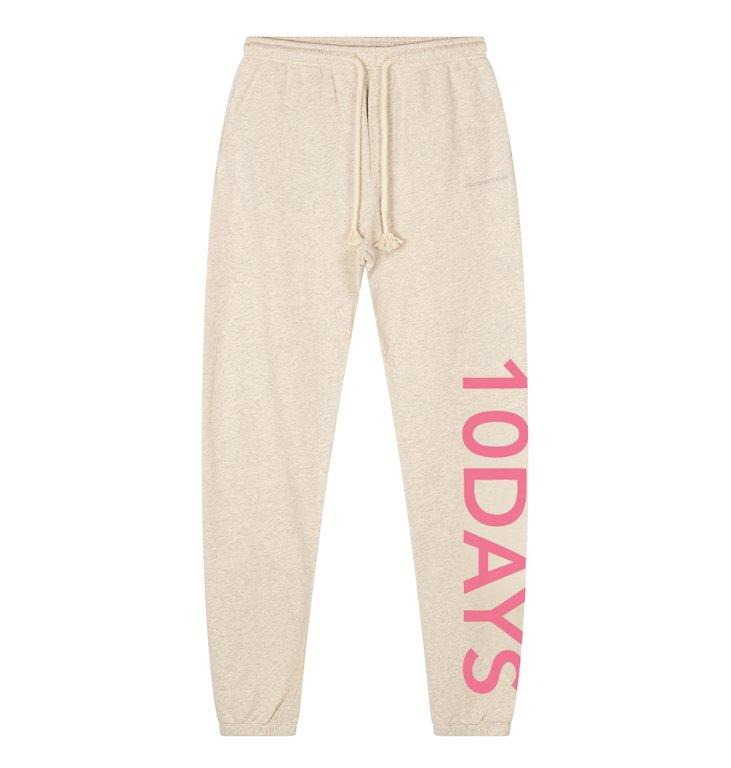 10Days 10Days Off White slim jogger logo 20-016-1201