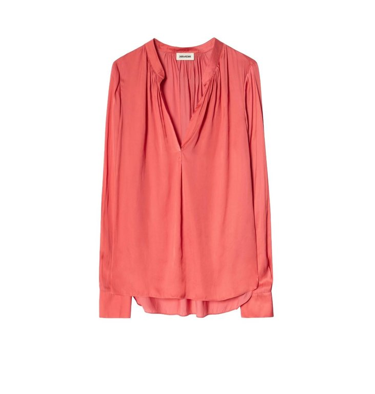 Zadig & Voltaire Zadig & Voltaire Coral Blouse Tink Satin