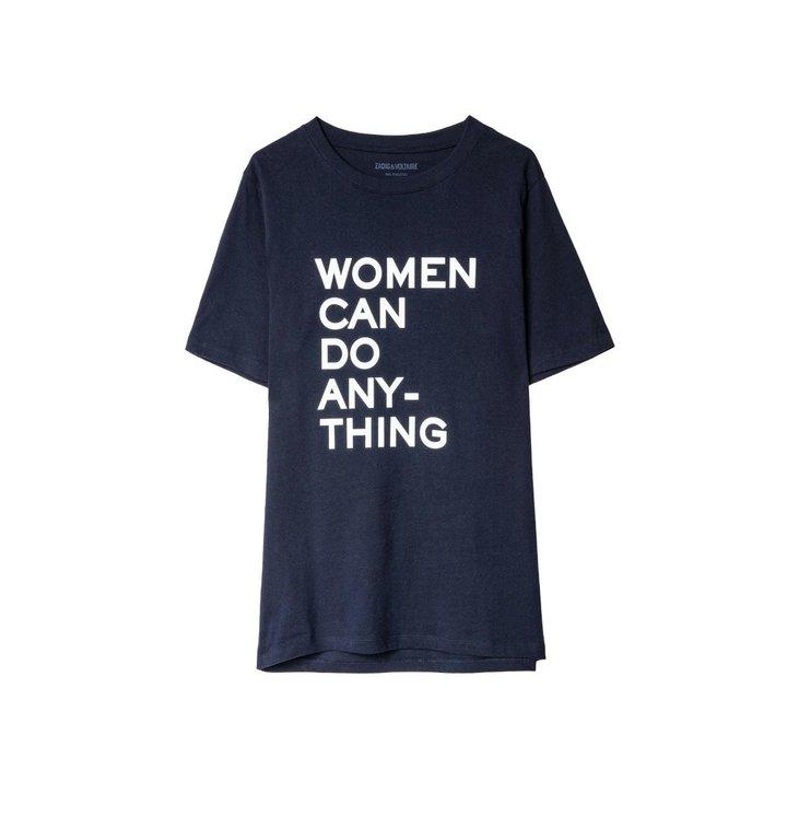 Zadig & Voltaire Zadig & Voltaire Navy T-shirt Bella