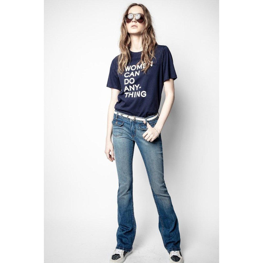 Zadig & Voltaire Navy T-shirt Bella