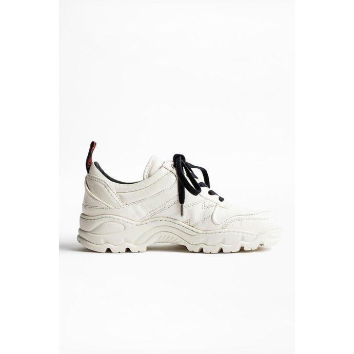 Zadig & Voltaire White Blaze Sneaker SHAE1701F