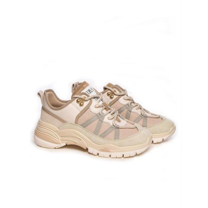 Toral Shoes Beige Sneakers TL-12529