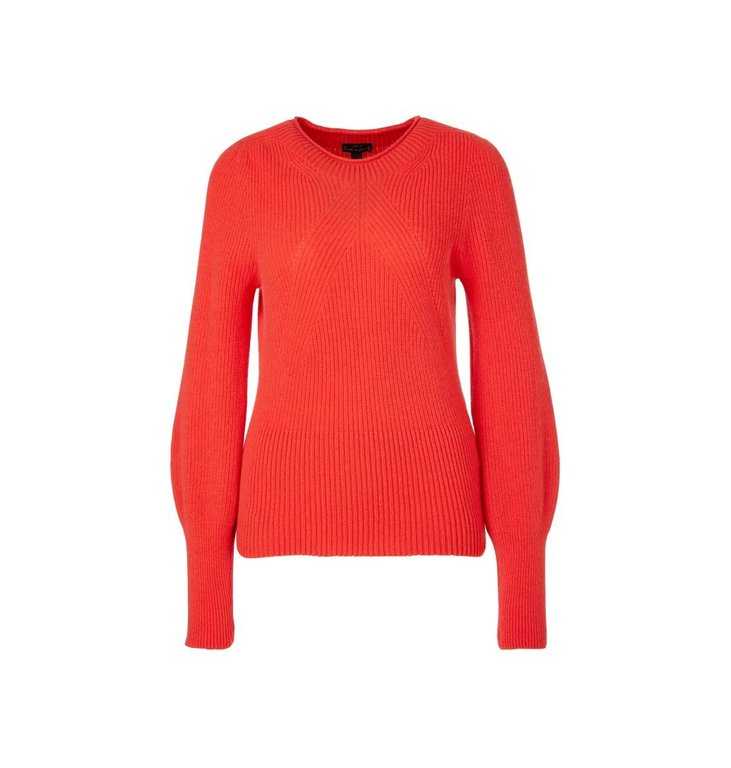 Marc Cain Marc Cain Red Knit QC4120-M14