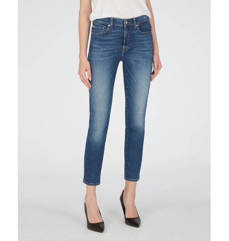 7 For All Mankind 7 For All Mankind Denim Blue Roxanne Ankle JSVY1200