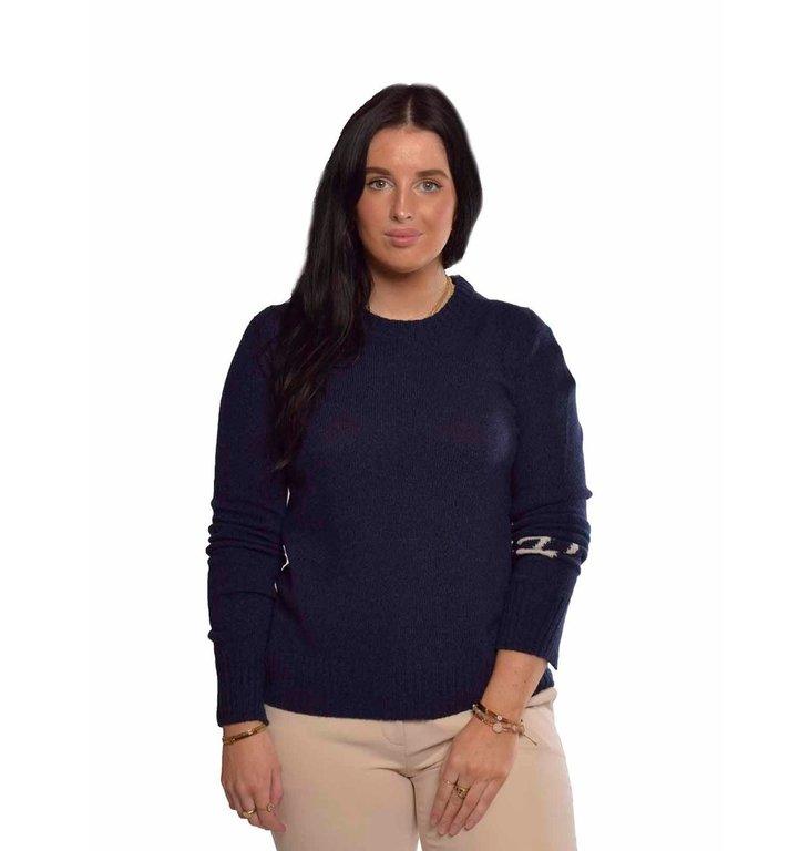 Zadig & Voltaire Zadig & Voltaire Navy Blue Knit Source