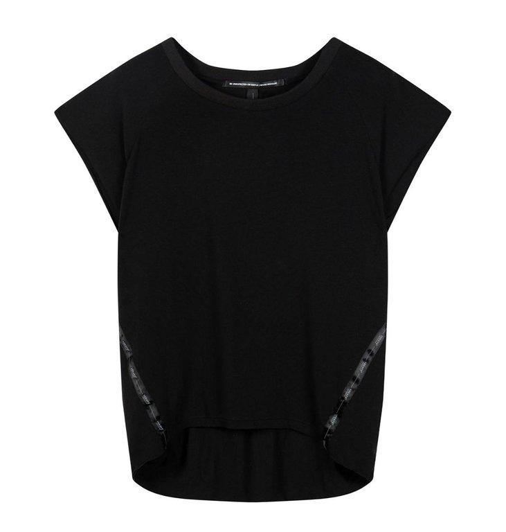 10Days 10Days Black soft short sleeve tee 20-750-1201