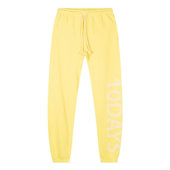 10Days Yellow slim jogger logo 20-016-1201