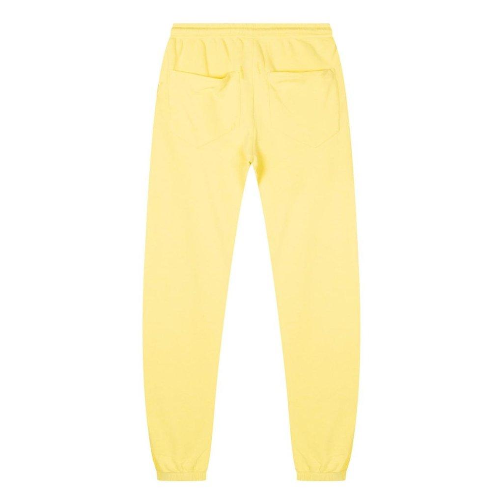 10Days Yellow slim jogger logo 20-016-1201
