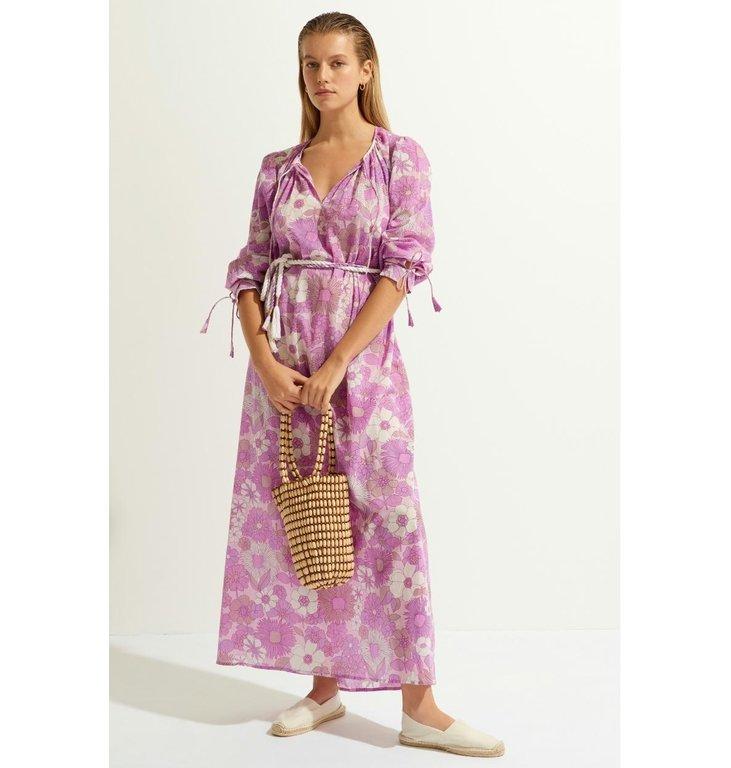Antik Batik Antik Batik Lila Long Dress Loretta1ldr