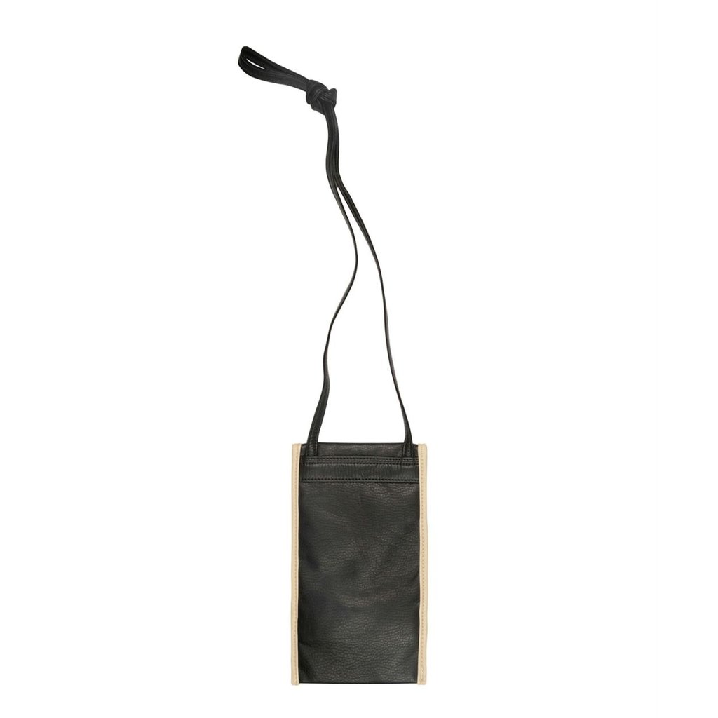 10Days Black small pouch uni 20-967-1201