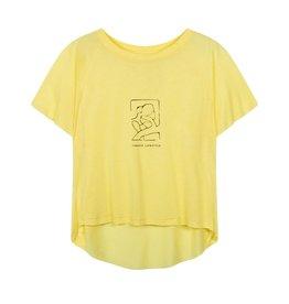 10Days 10Days Yellow shortsleeve tee sketch 20-740-1201