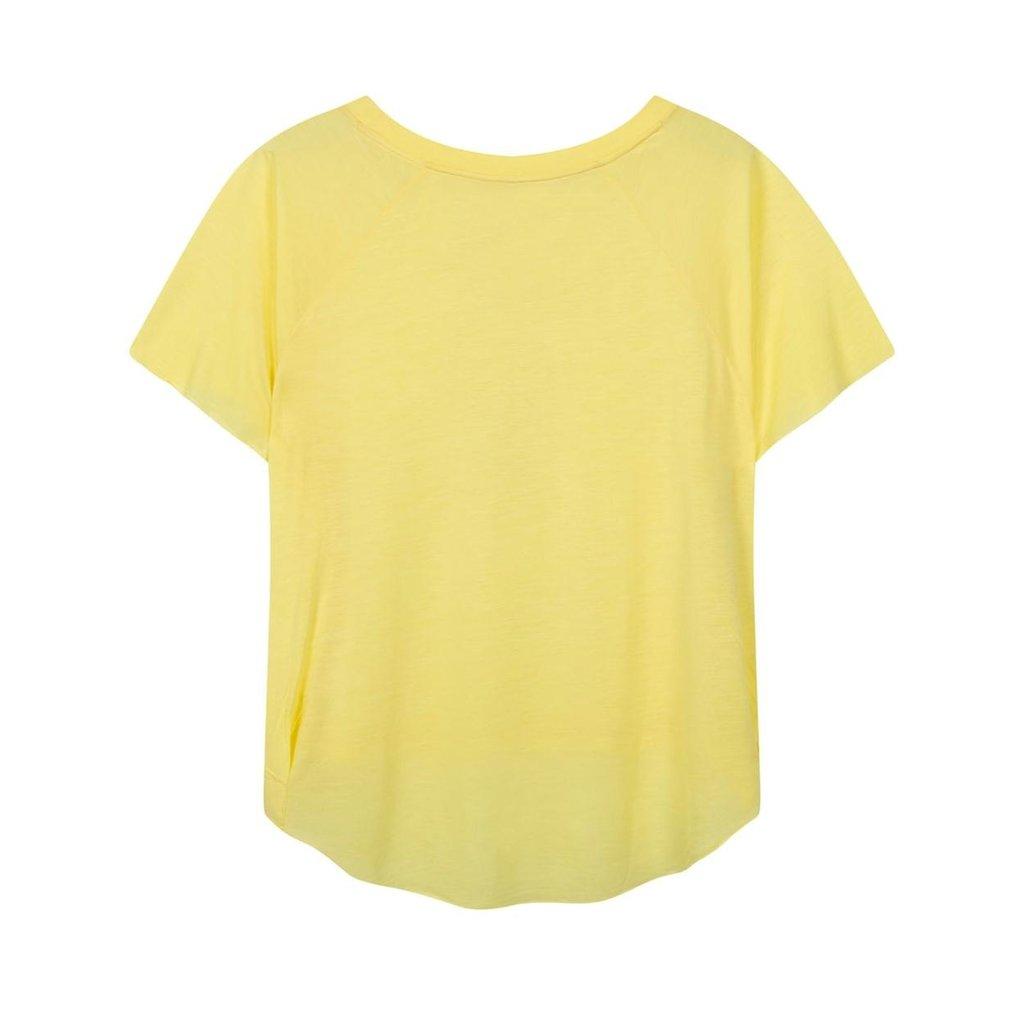 10Days Yellow shortsleeve tee sketch 20-740-1201