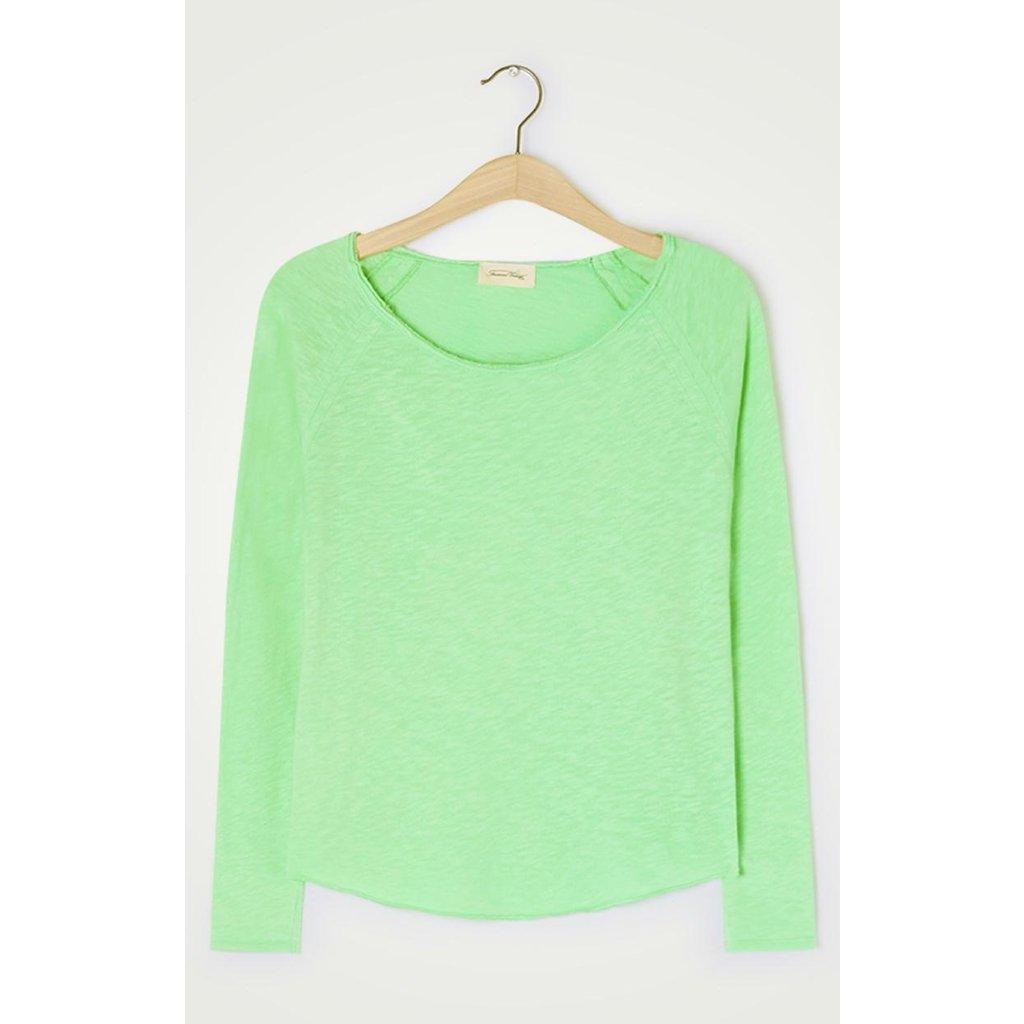 American Vintage Green Shirt Son31g