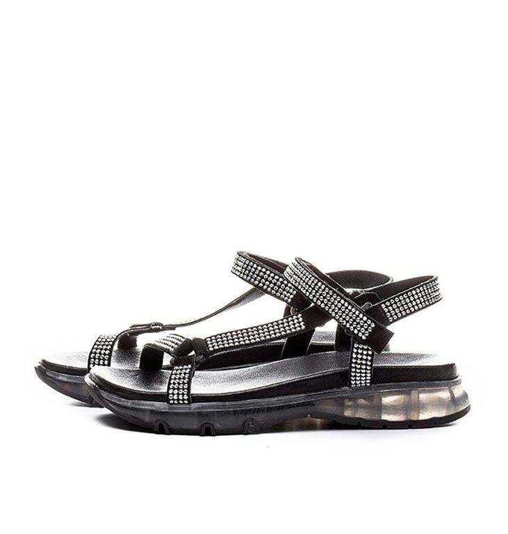 Toral Shoes Toral Shoes Black Sandals TL12342