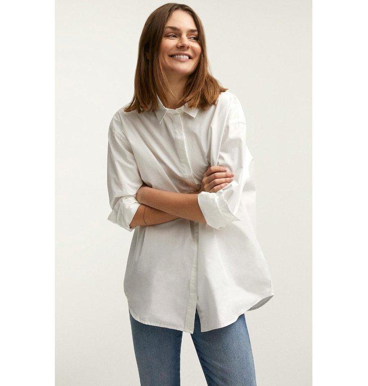 Denham Denham White T-shirt Olivia Shirt Pop