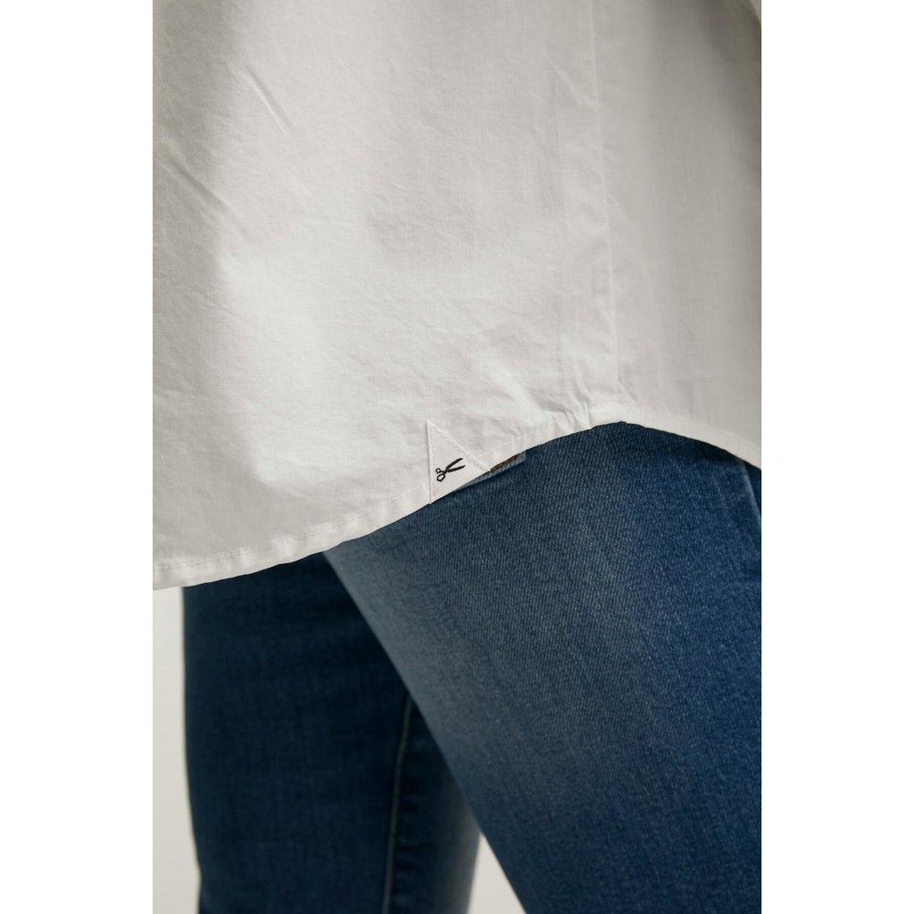 Denham White T-shirt Olivia Shirt Pop