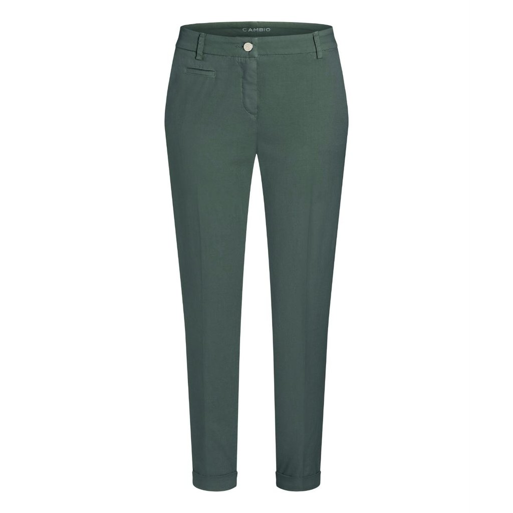 Cambio Army Green Stella Pantalon 7644-0361-01